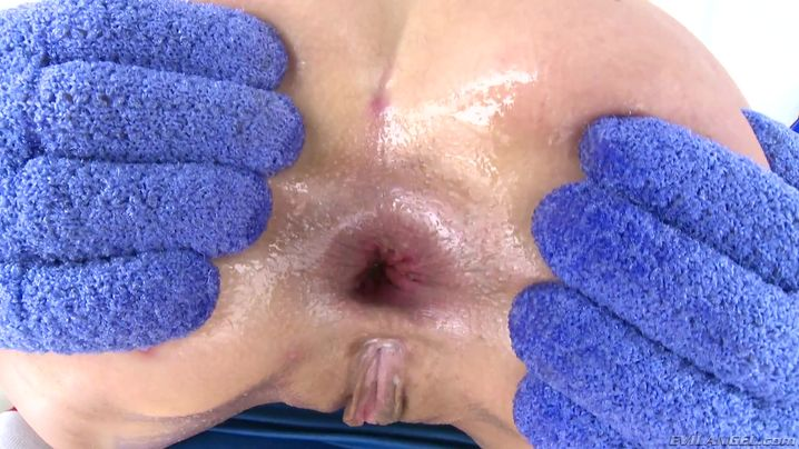 Phallus loving insatiable gf got fucked in the booty and had a very intense orgasm
