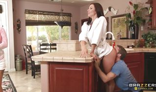 Cunning Kendra Lust gets her round ass firmly booty banged