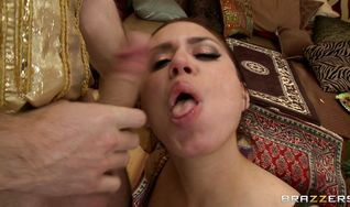 Beguiling Eva Angelina got fucked in the butt and started moaning from pleasure like never before