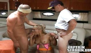 Dirty lady Sophia gets her ass licked and doggy styled