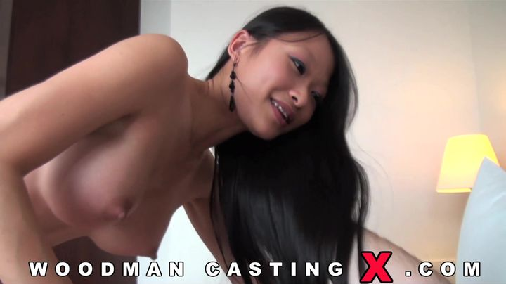 Appealing oriental darling spoon bum fucked and she loves the session
