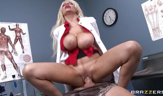 Sensual perfection Holly Brooks with firm natural tits is always in the mood to get butt fucked until she starts moaning