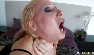 Succulent lady Candy Manson got butt fucked in a doggy style position until she started moaning from pleasure