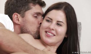 Remarkable brunette bimbo Cassie Right didn't know that she was recorded while getting her tight bum pounded