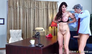 Gorgeous floosy Eva Karera has a tight ass she loves to fuck excellently
