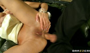 Vigorous Honey Demon with firm tits is getting butt banged and enjoying more than she expected
