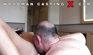 Sinful brunette lady gets her butt dicked hard