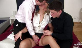 Babe is an attractive who loves getting booty fucked hard