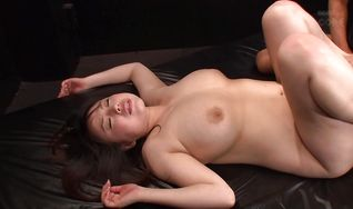 Pretty Rin Aoki with impressive tits loves having her tight butt smashed