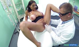 Breathtaking perfection Michaela Dixie is getting bum banged by boyfriend because he hired her for that