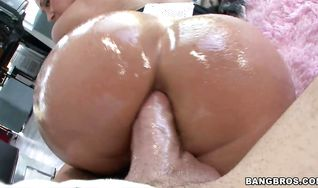 Lusty Tiffany Mynx gave a blowjob to her ex and was caught getting booty fucked before she cummed